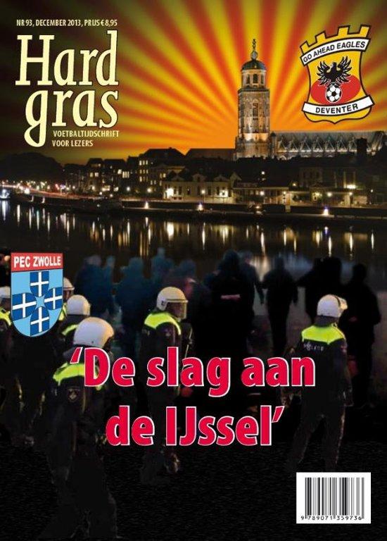 Cover van het boek 'Hard gras 93'