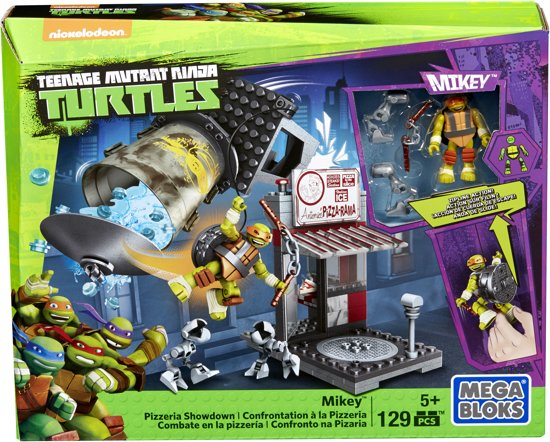 bol mega bloks mutant turtle jr