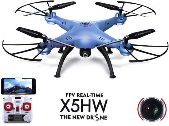 Syma X5HW drone met HD camera FPV live wifi quadcopter -wit