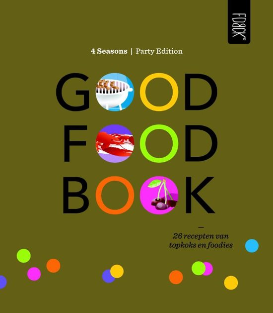 Good food book 4 Seasons party edition