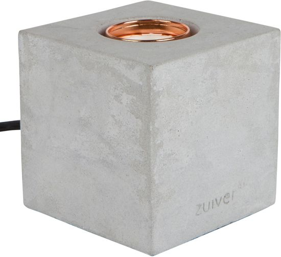 Zuiver - Table Lamp Bolch Concrete - Tafellamp - Grijs