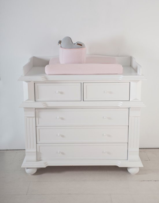 Commode Baby Kamer.Born Lucky Babykamer Barcelona Commode Wit