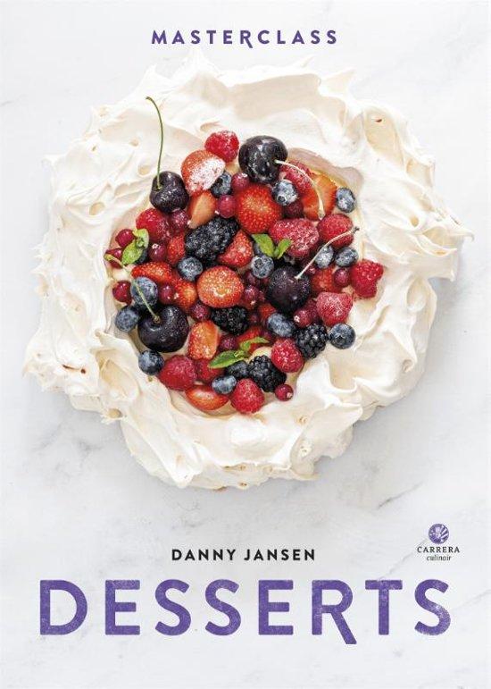 Boek cover Masterclass - Desserts van Danny Jansen (Hardcover)
