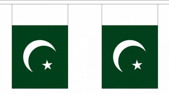 Luxe Pakistan vlaggenlijn 9 m