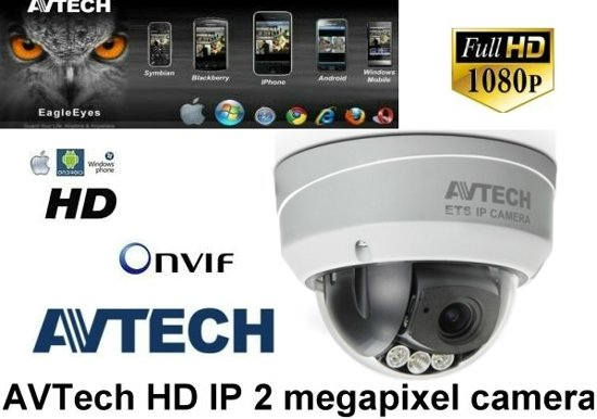 AVM542 2MP IR Dome IP bewakingscamera