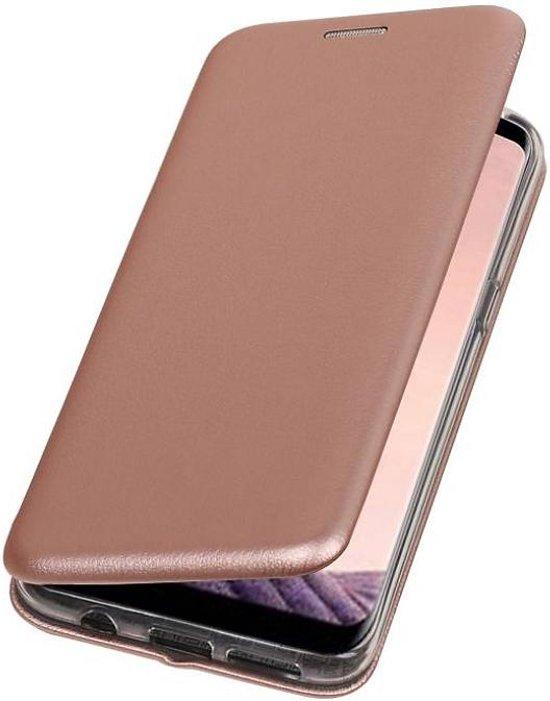 Housse Portefeuille Mince Rose Pour Samsung Galaxy S8, Plus