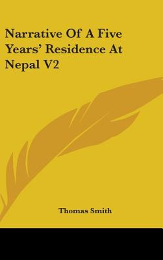 Narrative of a Five Years' Residence at Nepal V2