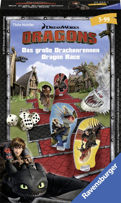 Afbeelding van het spel Ravensburger Dragons race - pocketspel