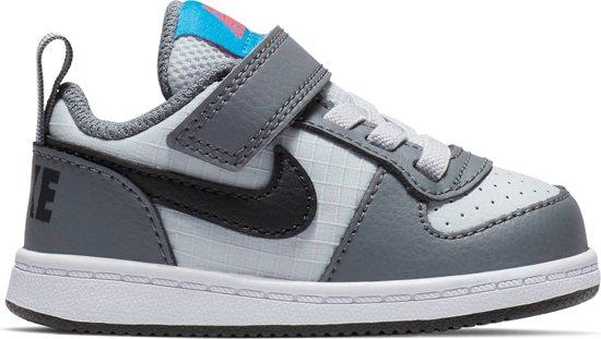 e1d46b9d9f4 bol.com | Nike Court Borough Low (Tdv) Sneakers Kinderen - Grijs ...