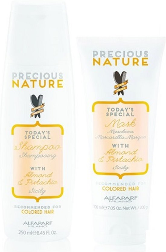 Alfaparf Precious Nature Pure Color Hair Protection Treatment Kit