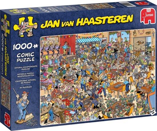 Afbeelding van Jan van Haasteren NK Puzzelen 1000 stukjes speelgoed