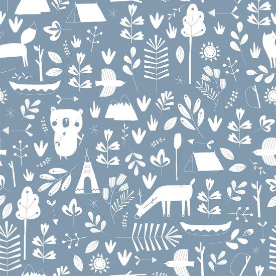 Little Dutch Aankleedkussenhoes - adventure blue