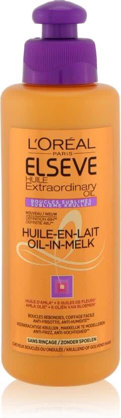 L'Oréal Paris Extraordinary Oil Krullen - Verzorging 200ml - Krullend of Golvend Haar