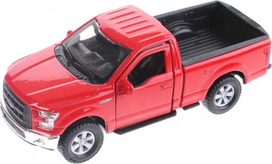 Welly Miniatuur Ford F-150 Rood