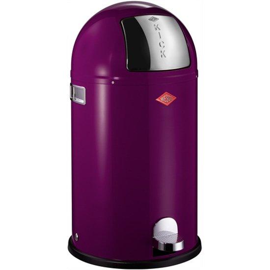 Wesco Prullenbak Goedkoop.Wesco Kickboy Prullenbak 40 Liter Blackberry Purple