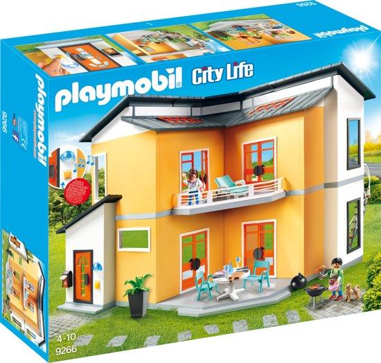 bol.com | PLAYMOBIL Modern Woonhuis - 9266, PLAYMOBIL | Speelgoed