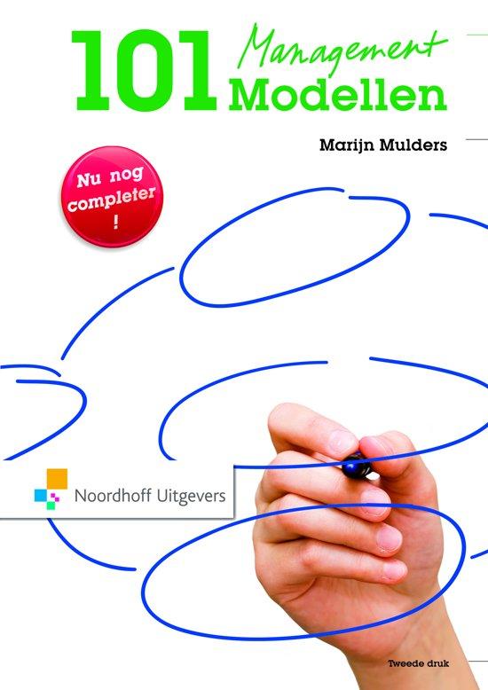 Cover van het boek '101 Managementmodellen' van Marijn Mulders