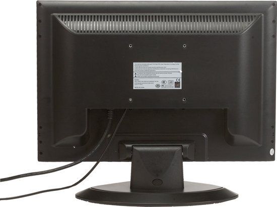 19 inch resistive touch monitor