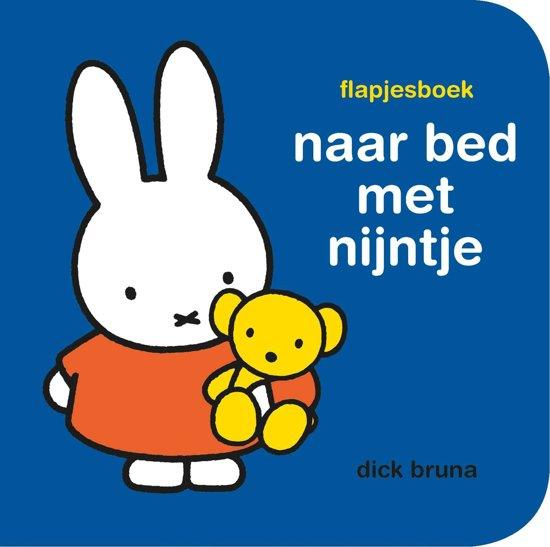 Boek cover flapjesboek naar bed met nijntje van Dick Bruna (Onbekend)