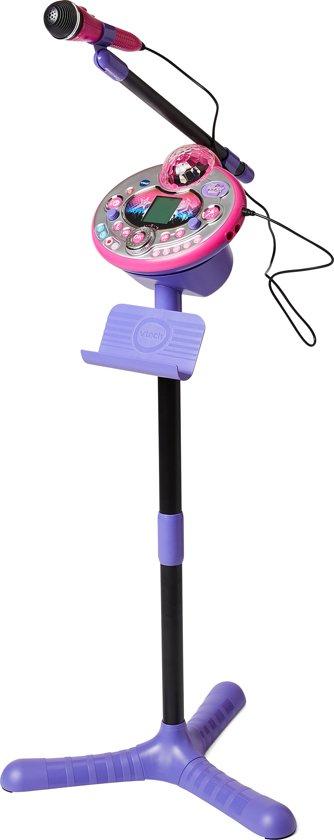 Afbeelding van VTech Kidi Superstar Lightshow Roze - Karaokeset speelgoed