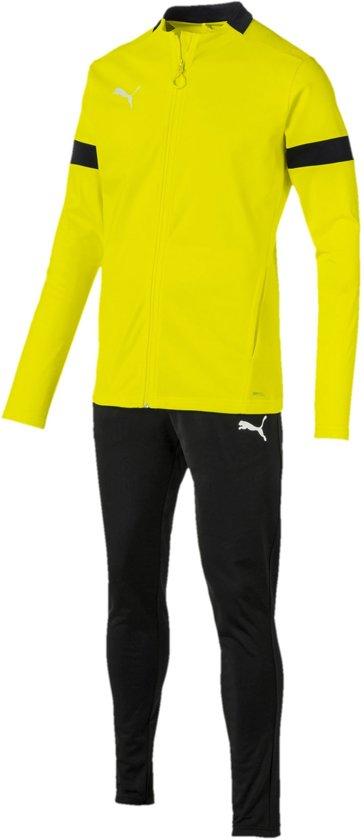 Puma Trainingspak - Maat XXL - Mannen - geel/zwart