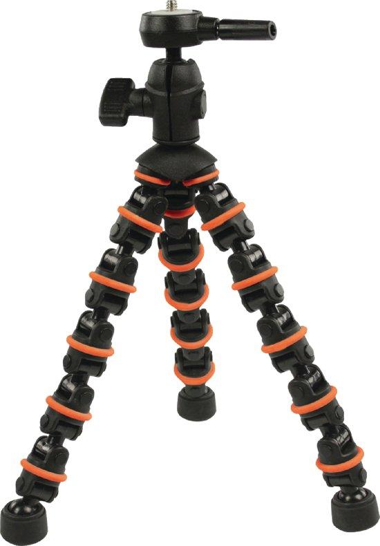 CamLink CL-TP140 Digitaal/filmcamera Zwart, Oranje tripod