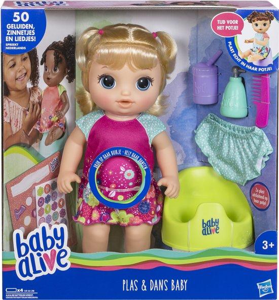 Baby Alive - Plas En Dans Babypop - Blond