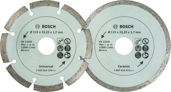 Tegels Den Bosch : Bol bosch diamantschijf mm voor tegels en bouwmaterialen
