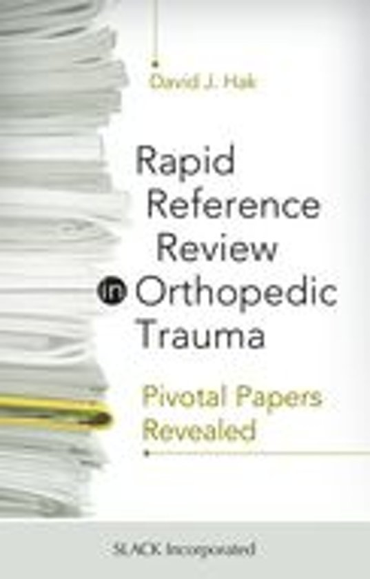 Rapid Reference in Orthopedic Trauma