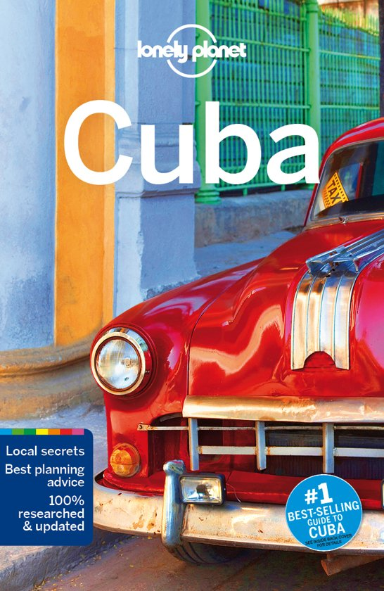 Lonely Planet Cuba cover