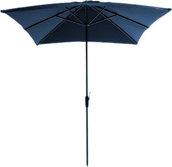 Madison - Parasol Rhodos - Vierkant 280 x 280 cm - Blauw