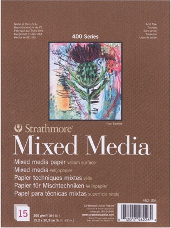 Strathmore 400 series mixed media papier - tekenblok