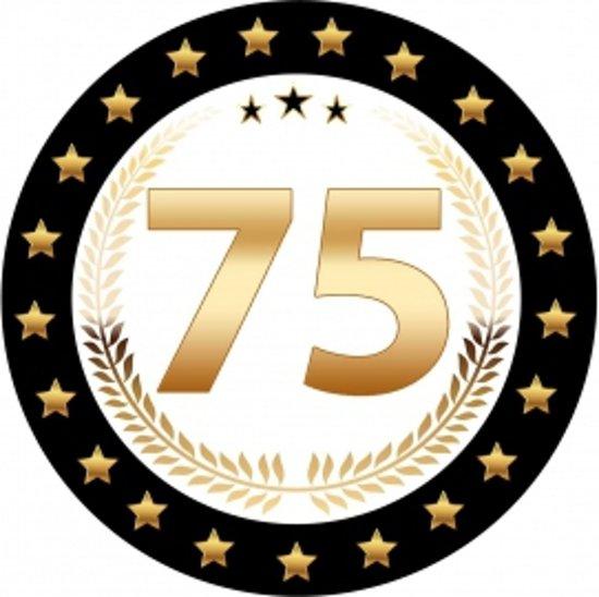 75 jaar bol.| Luxe Bierviltjes 75 jaar, Shoppartners | Speelgoed 75 jaar