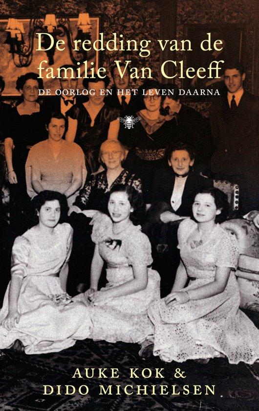 Boek cover De redding van de familie Van Cleeff van Auke Kok (Paperback)