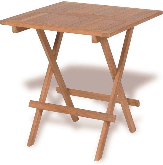 houten bistrotafel