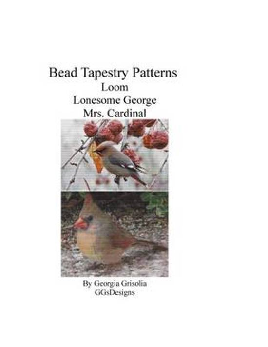 Bead Tapestry Patterns Loom Lonesome George Mrs. Cardinal