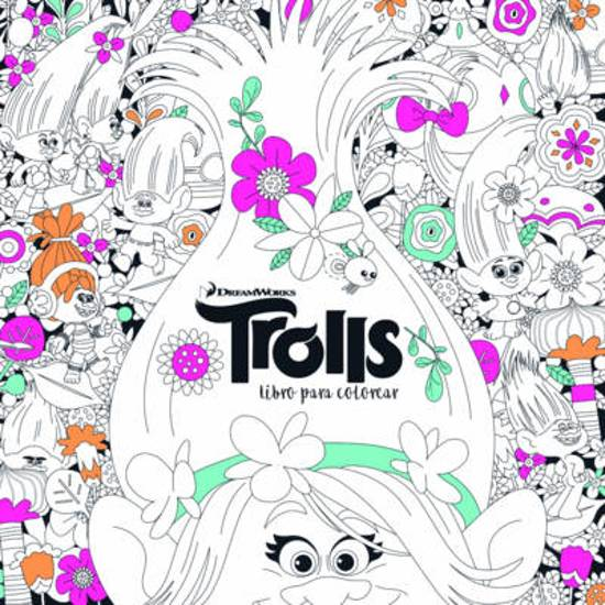 bol.com | Trolls. Libro Para Colorear / Trolls. It\'s Color Time ...