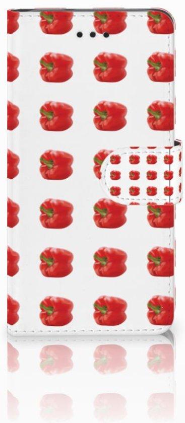 Huawei Y3 2017 Boekhoesje Design Paprika Red