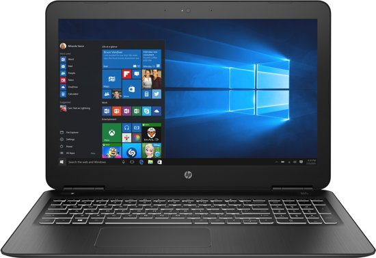 HP Pavilion 15-BC553ND - GeForce GTX 1050, 8 GB RAM, 512 GB SSD, 15.6 inch