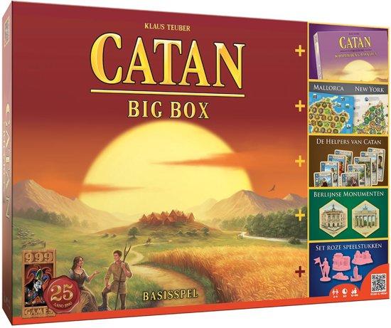 Afbeelding van het spel Kolonisten Van Catan Big Box - Bordspel