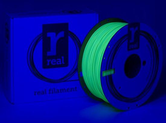 REAL Filament PLA fluoriserend groen 1.75mm (1kg)