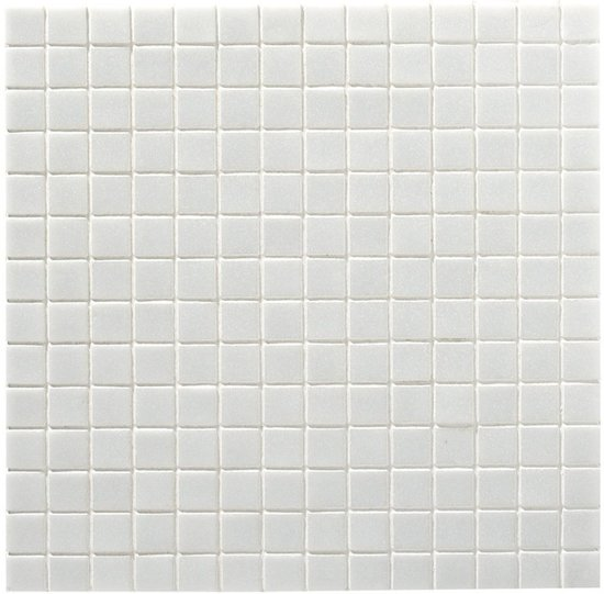 Glazen mozaiek tegels waterdicht 2x2 cm - 1,07m²