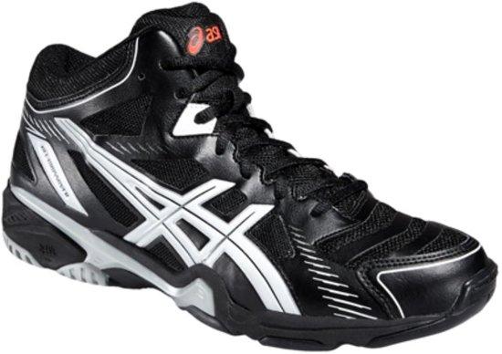 asics sneakers dames zwart wit