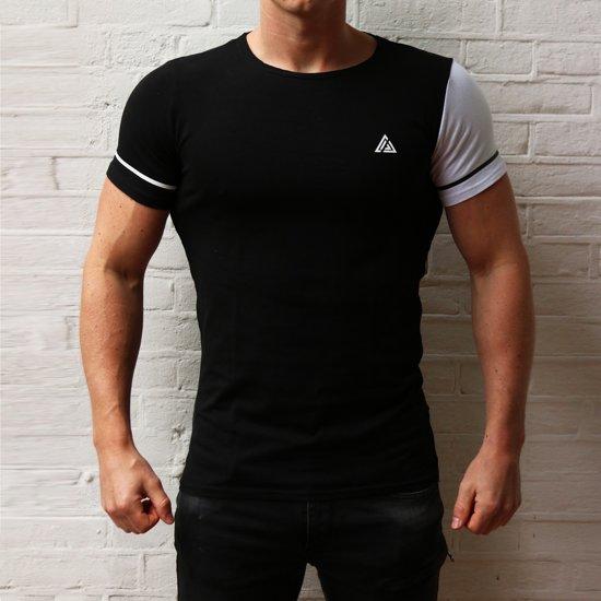 Slim fit T-shirt - Extra large - Zwart - Cicwear