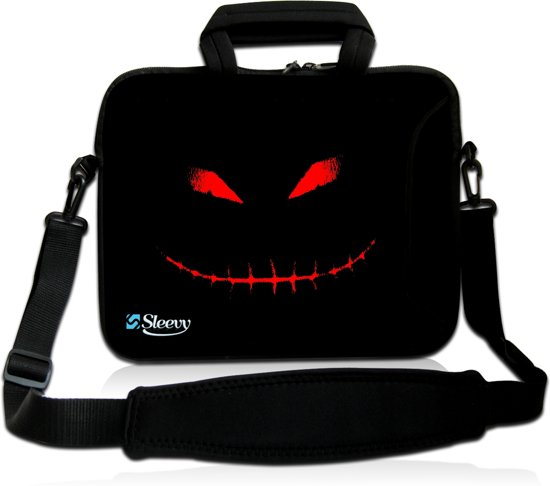 194ae4d4920 Laptoptas 17,3 inch Halloween - Sleevy - laptophoes voorvak - laptop sleeve  - smalle