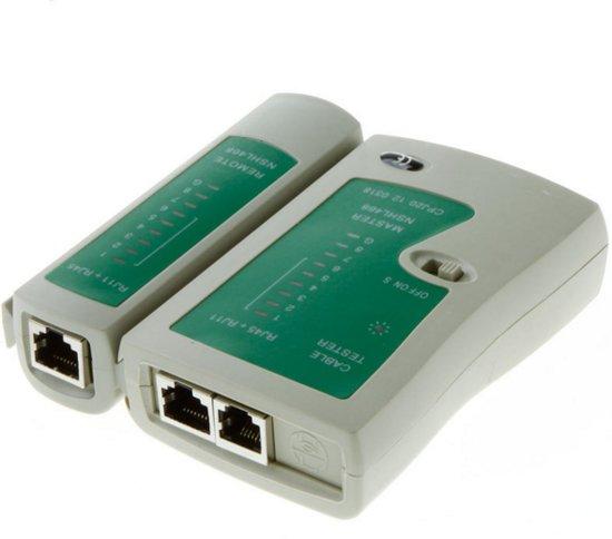 Netwerkkabel, LAN kabel tester