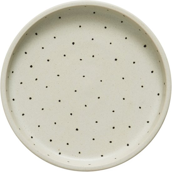 Why-Not ronde tray - stippen