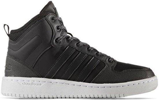 sports shoes 8513b 9e3ef adidas CloudFoam Hoops Mid Sneakers - Schoenen - zwart - 40