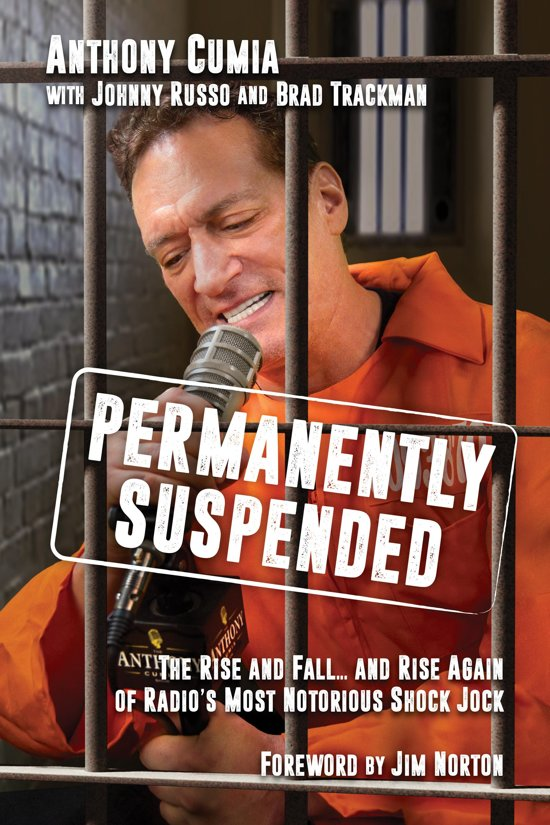 Boek cover Permanently Suspended van Anthony Cumia (Onbekend)