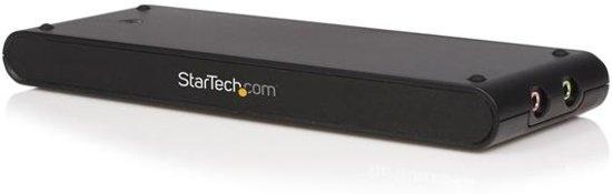 StarTech.com - USB-VGA-adapter en een 4-in-1 docking station - Zwart